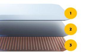 cella fotovoltaica del pannello fotovoltaico ad alta efficienza SunPower